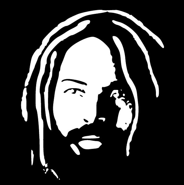 Sillouette of Mumia Abu-Jamal.